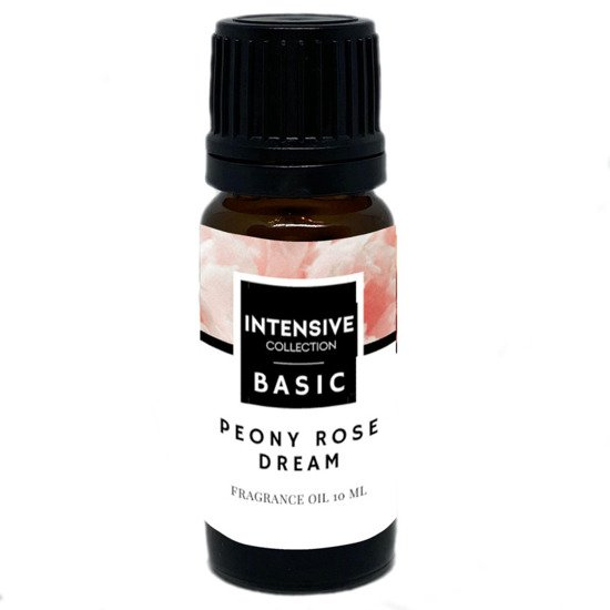 Intensive Collection Amber Basic olejek zapachowy w naturalnym szkle 10 ml - Peony Rose Dream